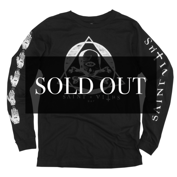 Saint Vitus Festival Black Long Sleeve