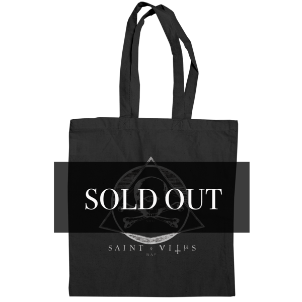 St. Vitus Black Tote Bag