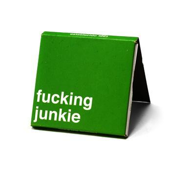 Fucking Junkie Rolling Papers