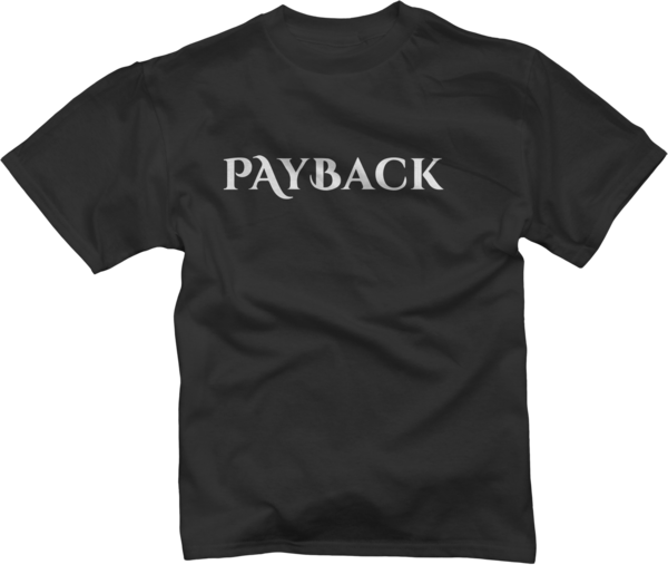 Lord Payback Youth Black T-Shirt