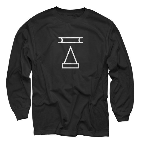 2019 Hieroglyphic on Black Longsleeve