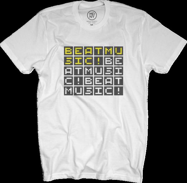 Beat Music! White T-Shirt
