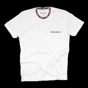 I Hope Peace White T-Shirt