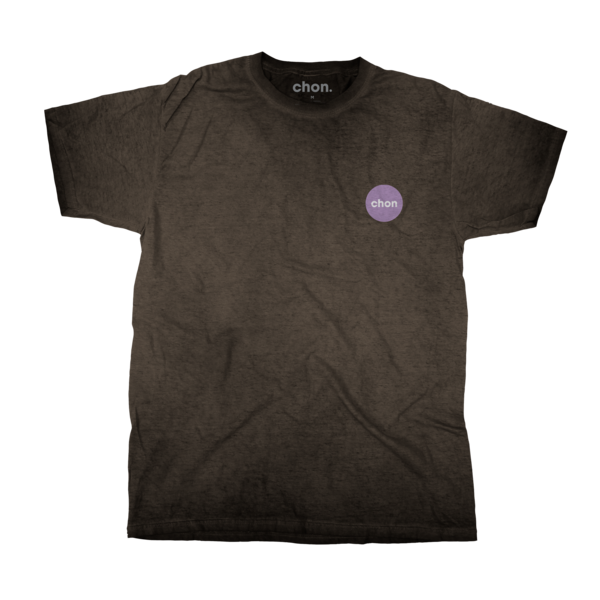 Chon Oil Washed Black T-Shirt