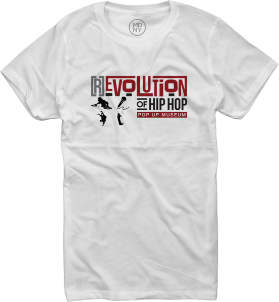 [R]Evolution Of Hip Hop Museum Tee