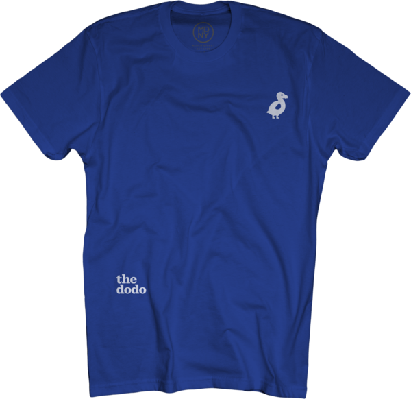 Dodo Friends Tee - Dodo/Blue