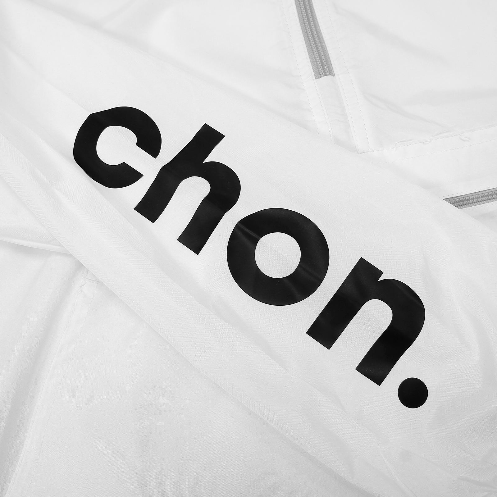 Chon White Windbreaker