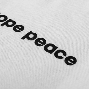 I Hope Peace White T-Shirt