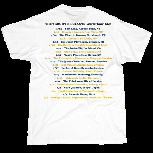 2040 World Tour on White