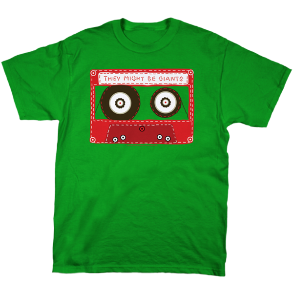 Cassette on Kelly Green