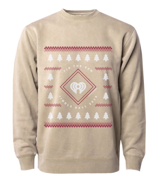 2018 Jingle Ball Tour Holiday Sweater Crewneck