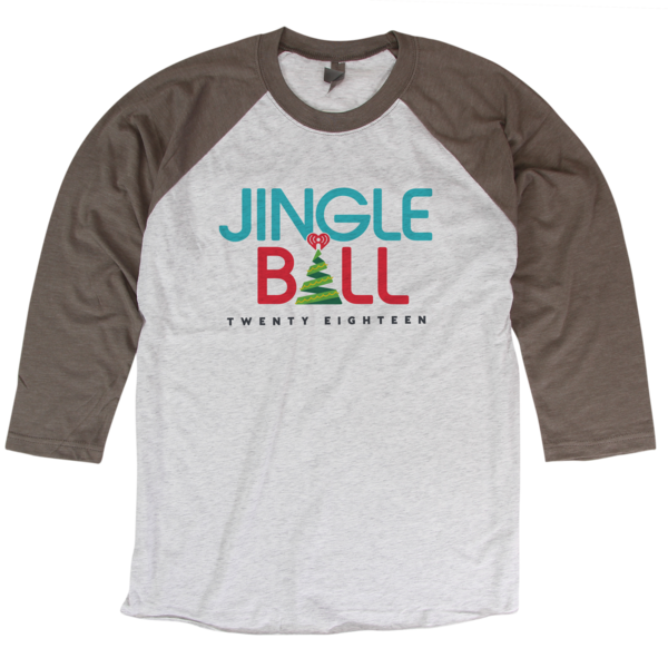 2018 Jingle Ball Tour Baseball Tee