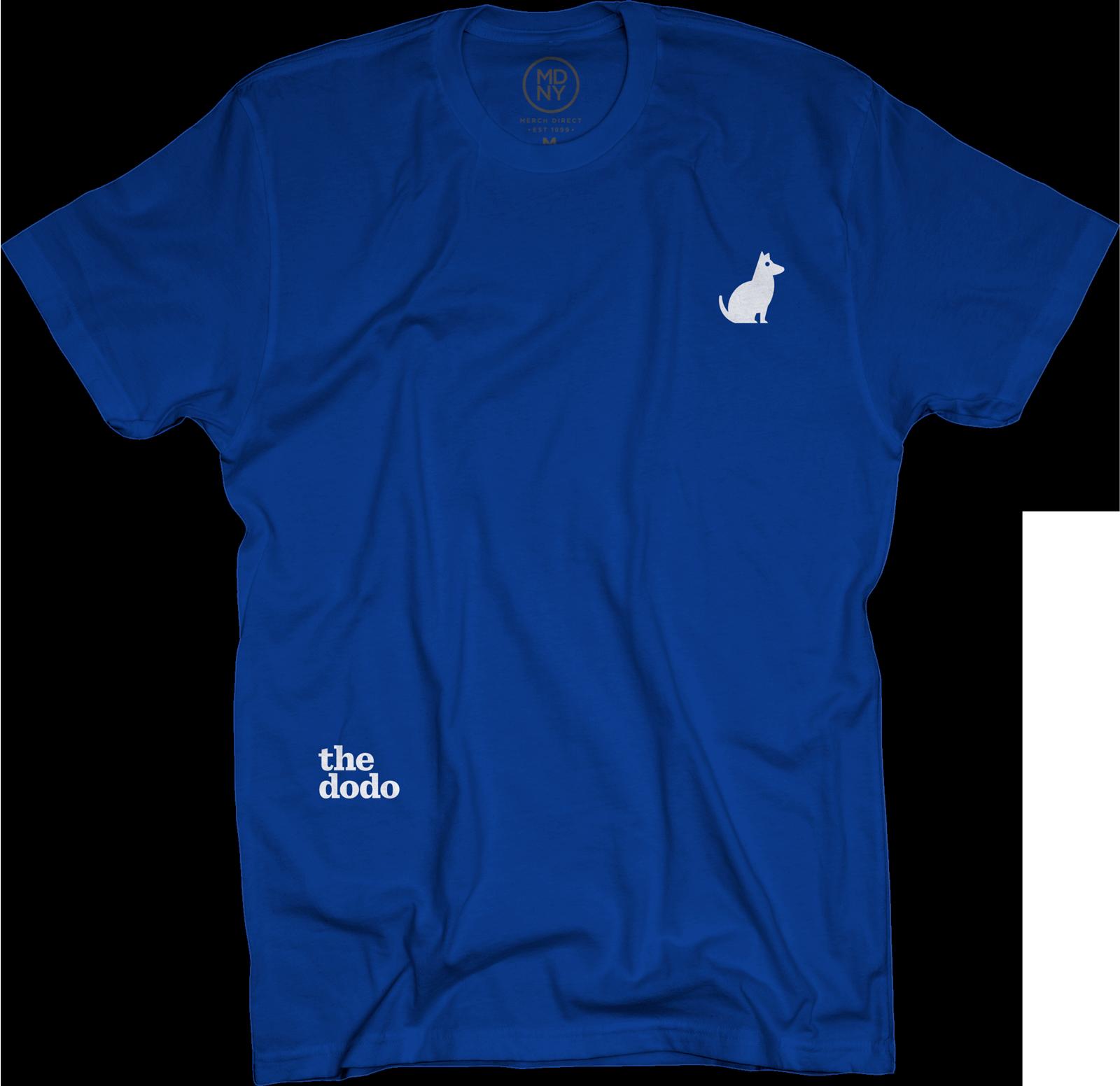 Dodo Friends Tee - Dog/Blue