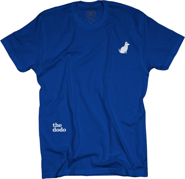 Dodo Friends Tee - Dog/Blue