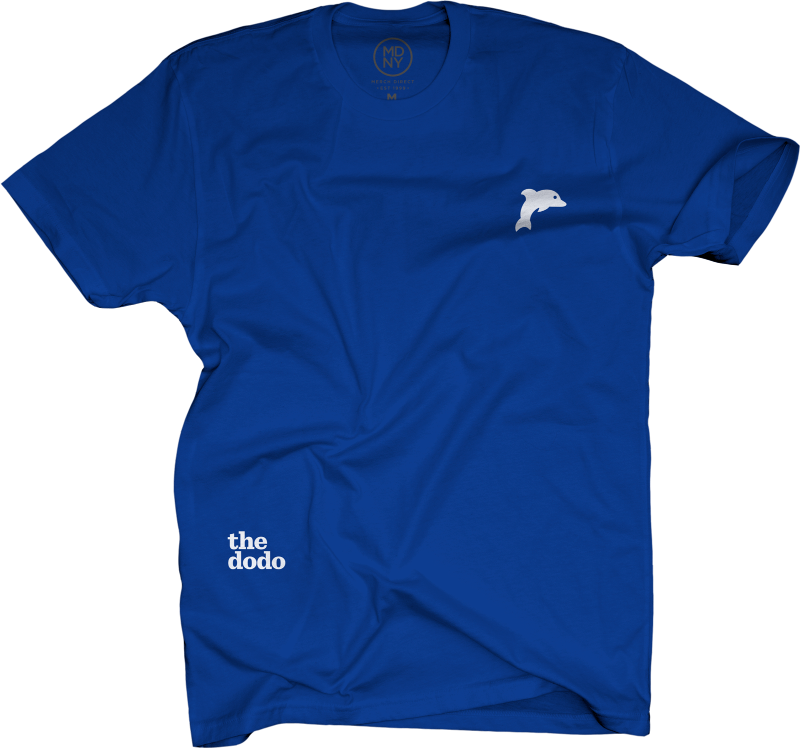 Dodo Friends Tee - Dolphin/Blue