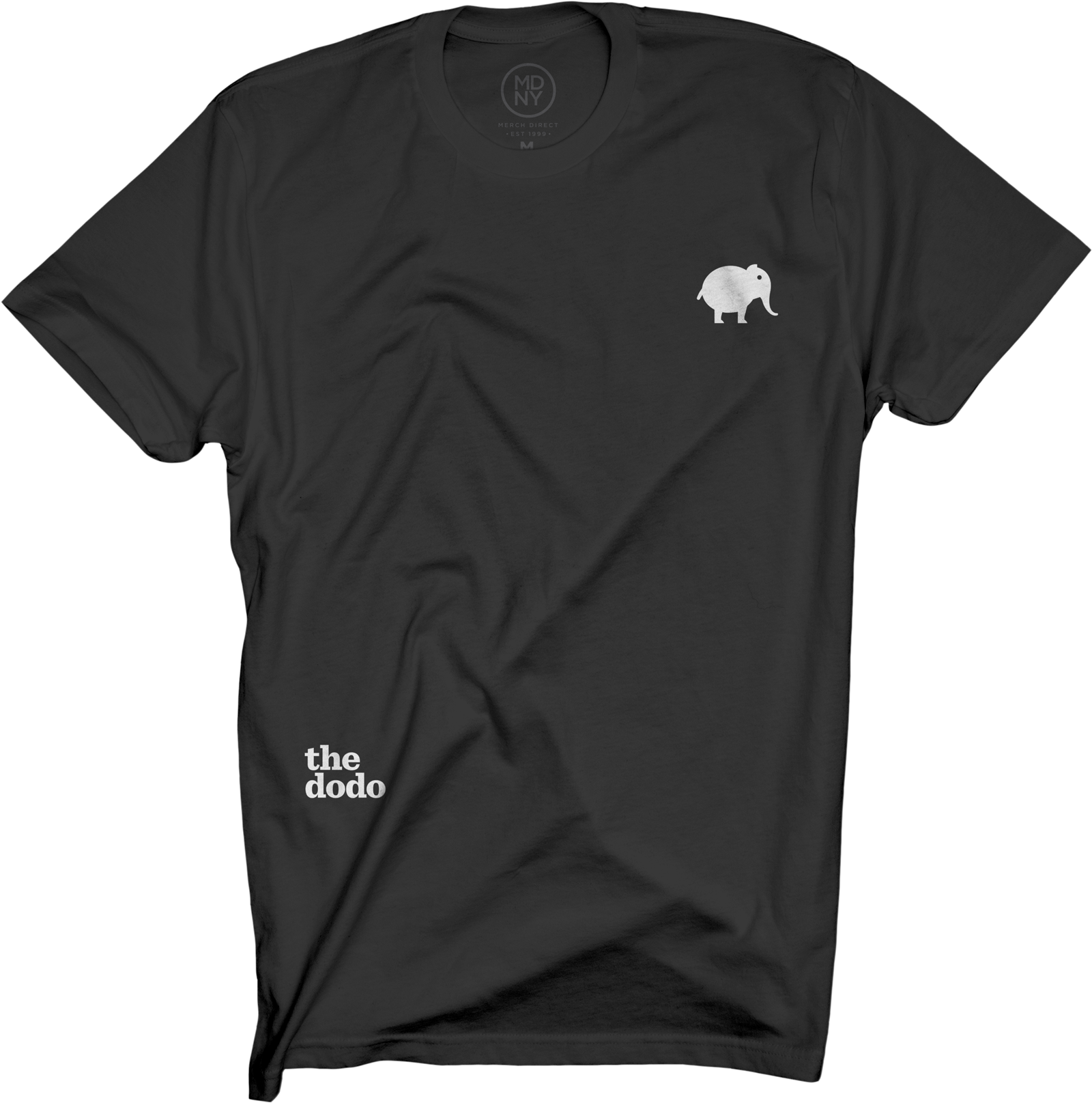 Dodo Friends Tee - Elephant/Black
