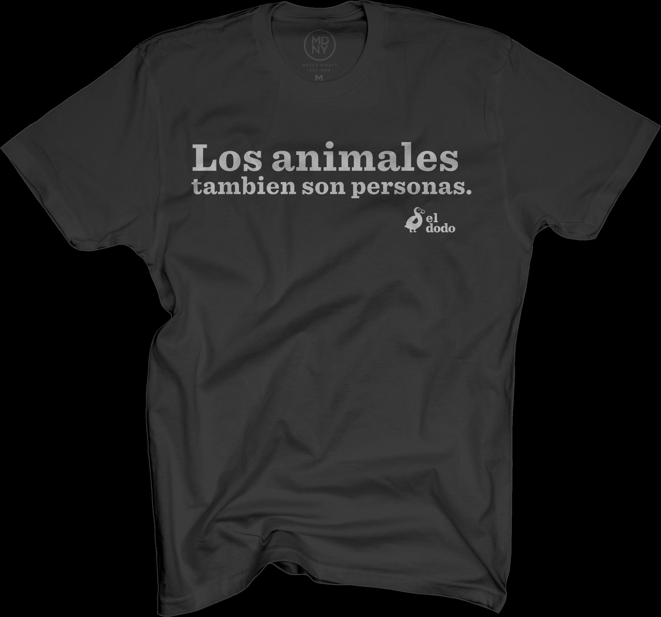 Los Animales Tambien Son Personas Tee