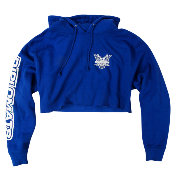 USA Royal Crop Pullover