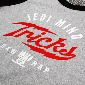 JMT Bolt Black/Heather Grey Raglan