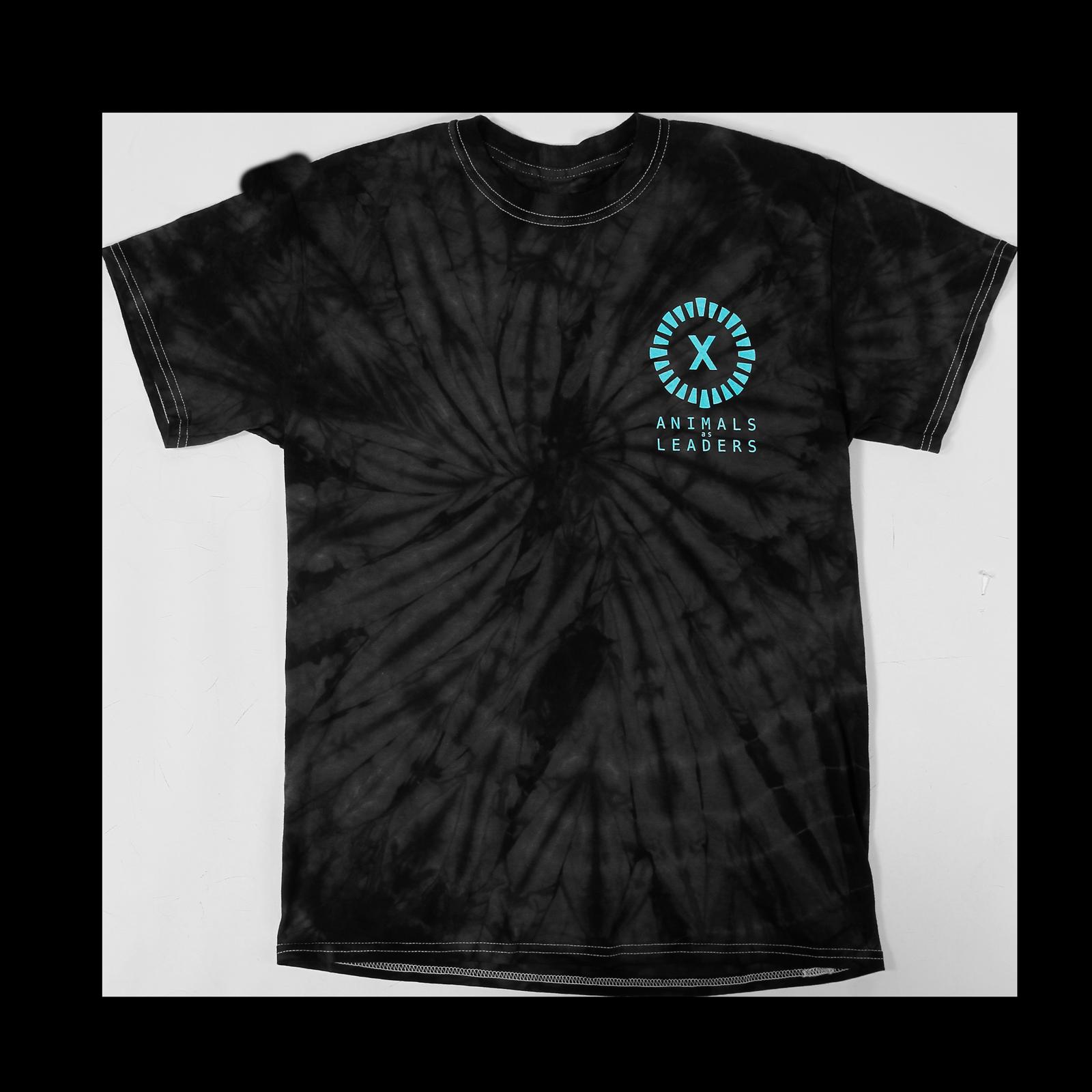 X Year Anniversary Spider Black Tie Dye T-Shirt