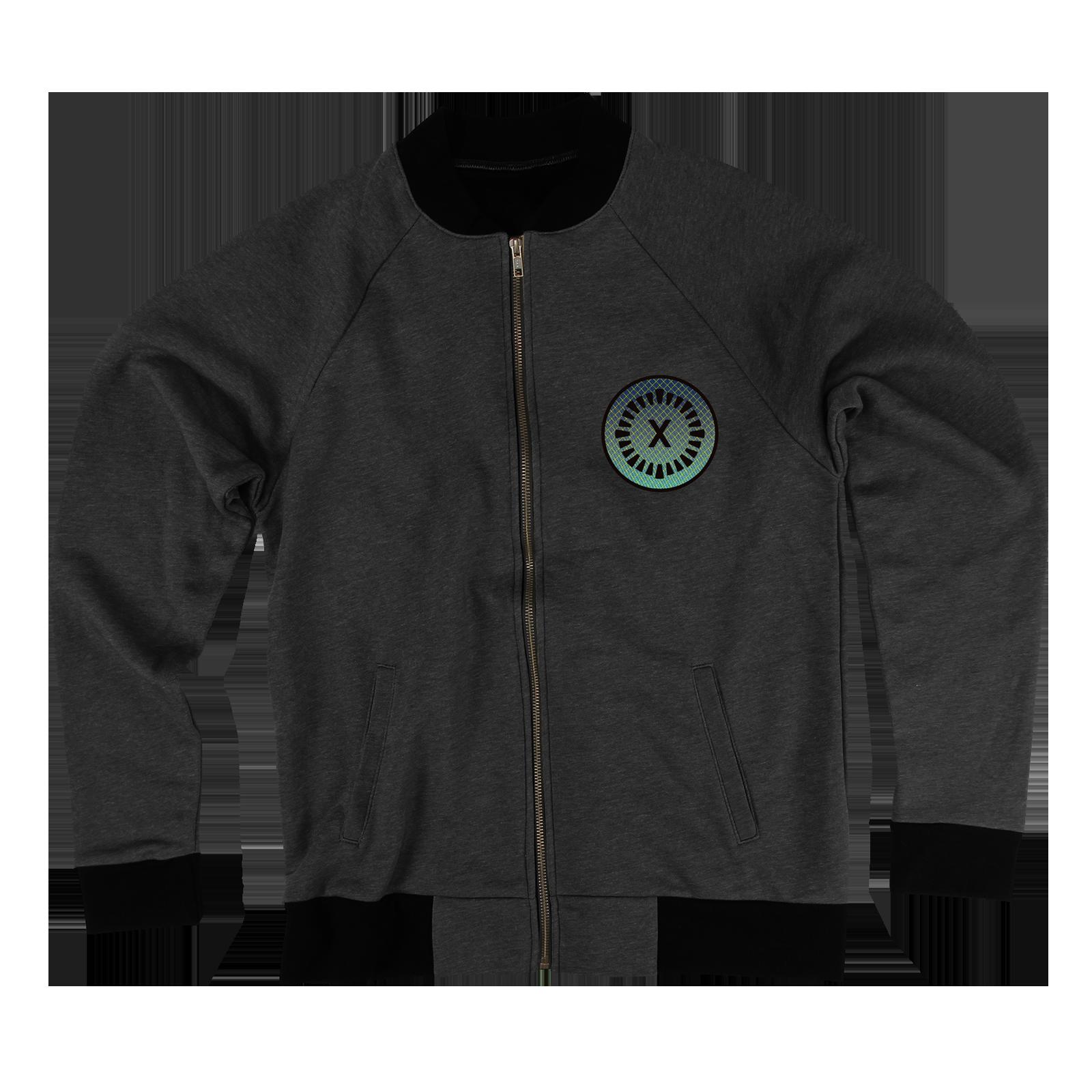 X Year Anniversary Black Fleece Bomber Jacket