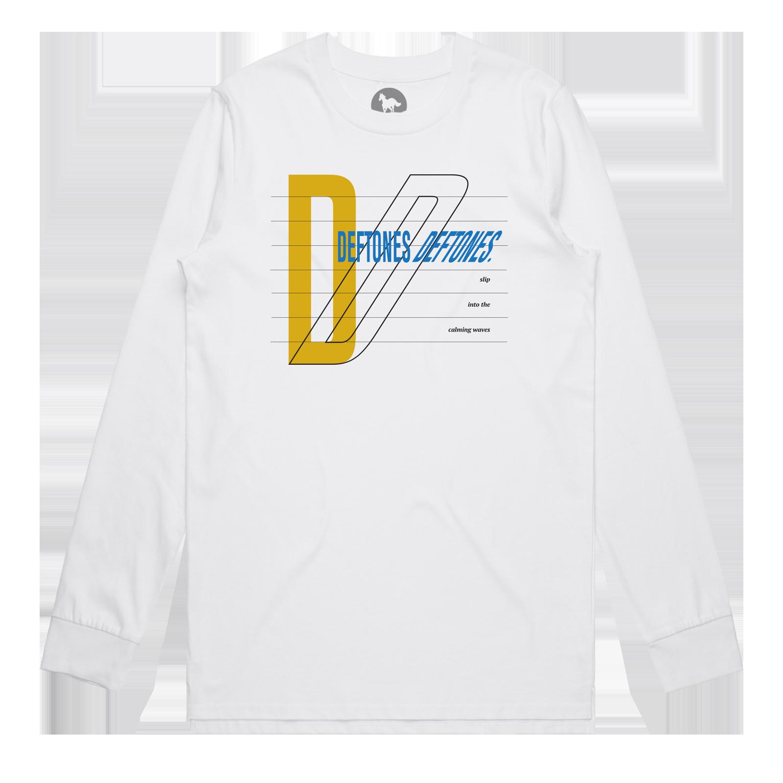 Deftones Deftones White Long Sleeve