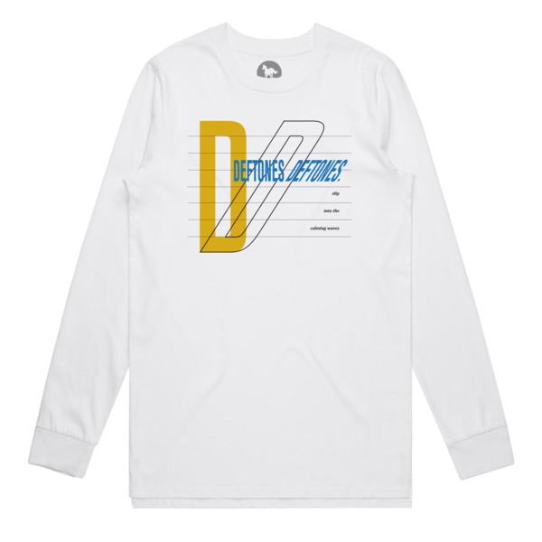 Deftones Deftones White Long Sleeve