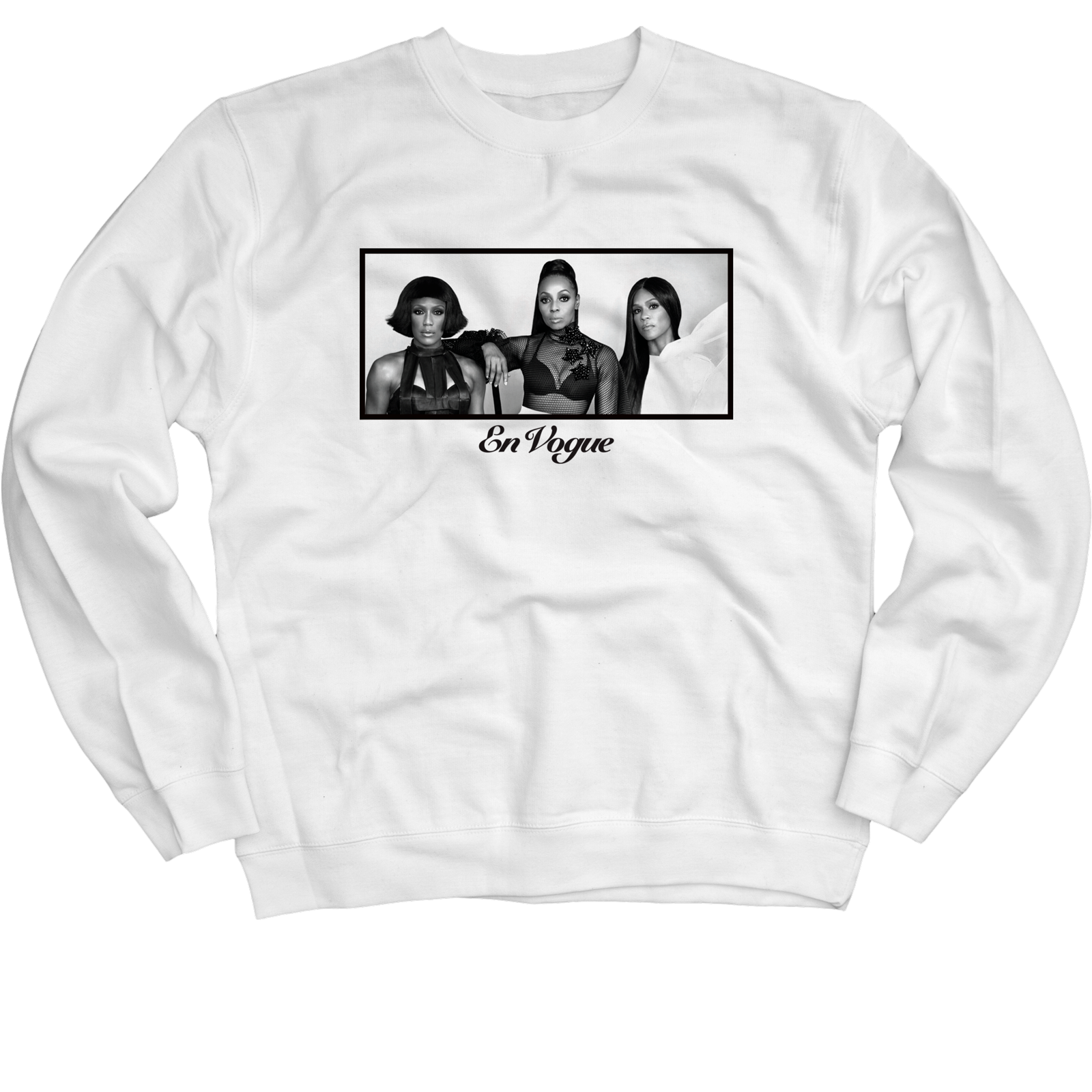 Portrait White Crewneck Sweatshirt