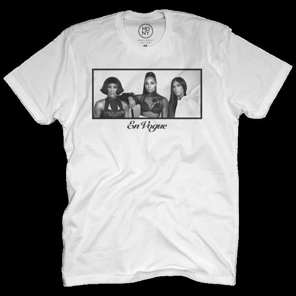 Portrait White T-Shirt