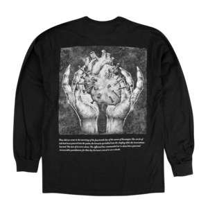 Black Heart Communion Black Long Sleeve
