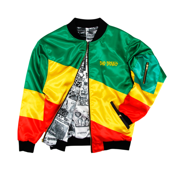 Color Block Flyer Lined Bomber
