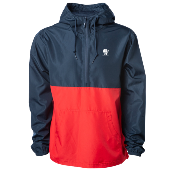 JMT - Dream Team Red/Blue Pullover Windbreaker