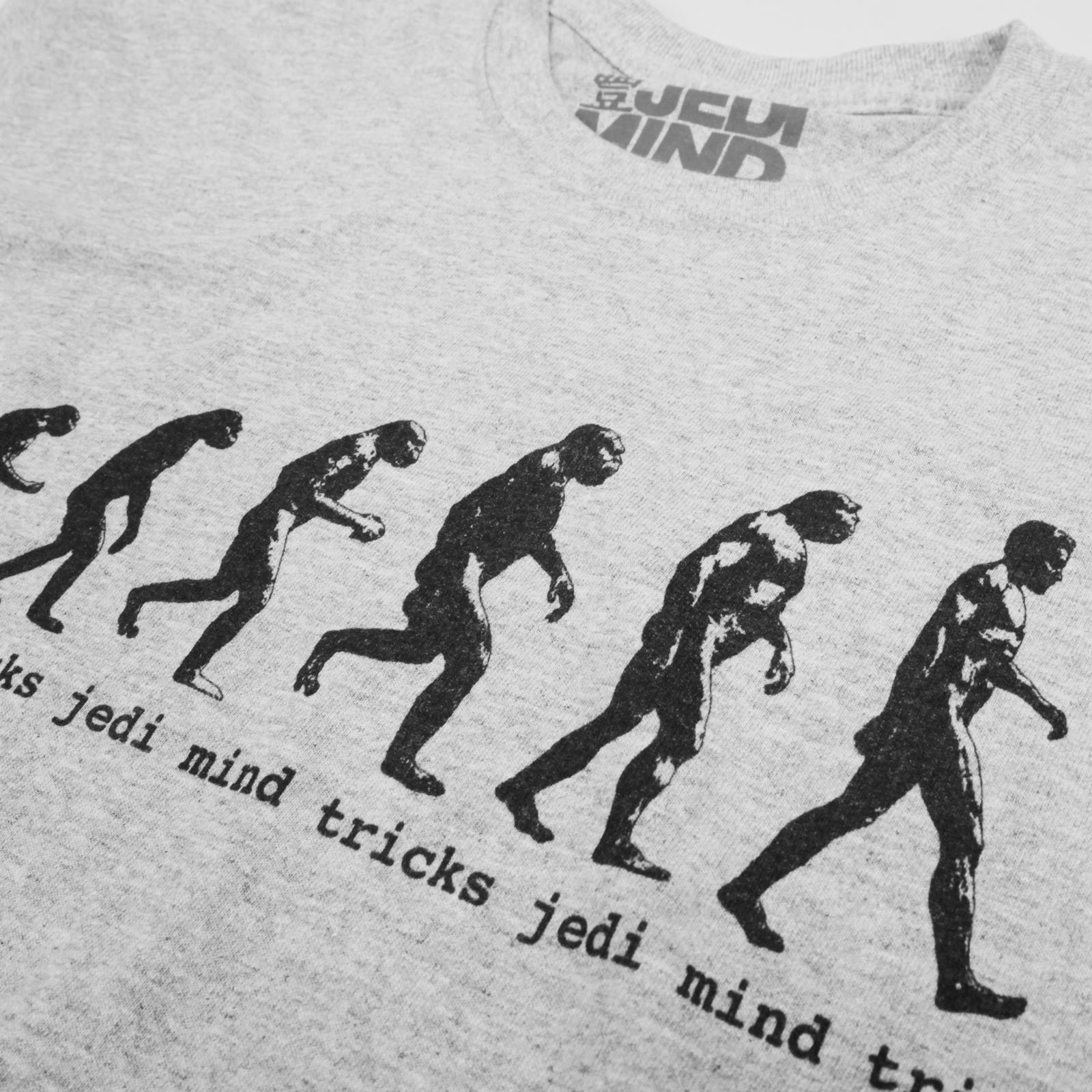 Retro Evolution Heather Grey T-Shirt