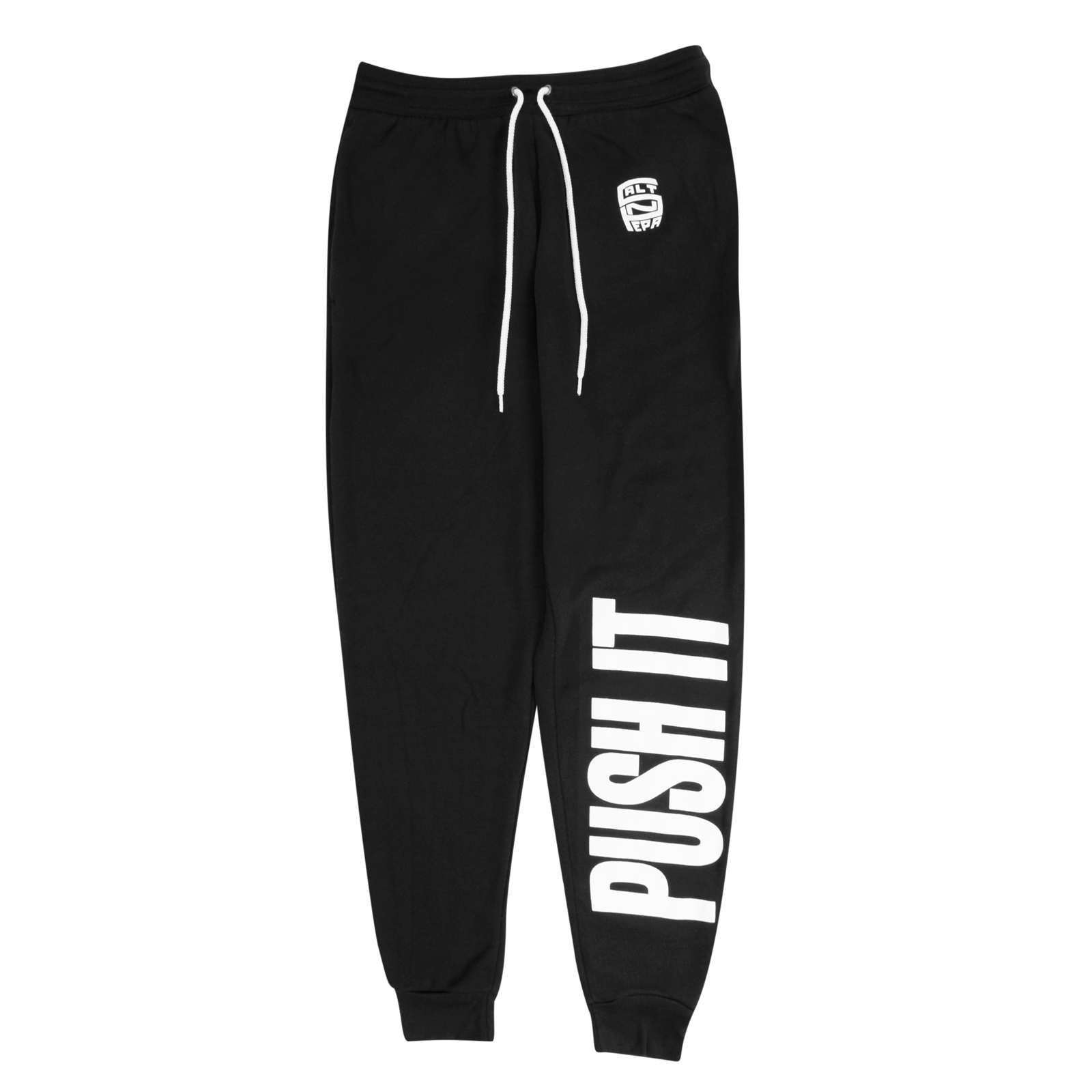 Push It Black Sweatpants
