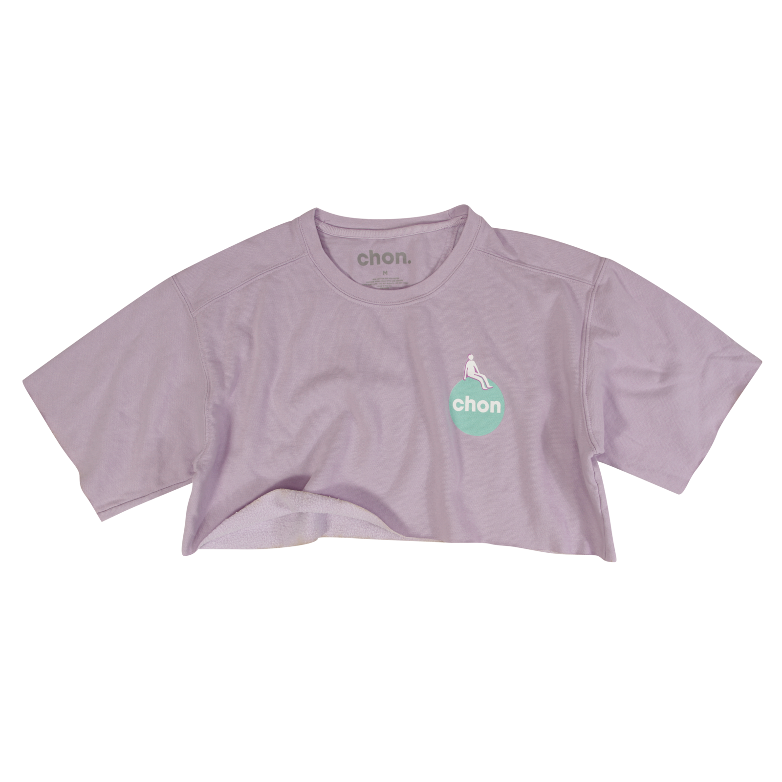Orchid Cropped Fleece Tee