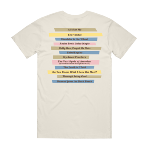 Throught Being Cool - Titles Natural T-Shirt