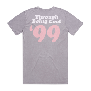 Through Being Cool - Stone Wash Orchid T-Shirt