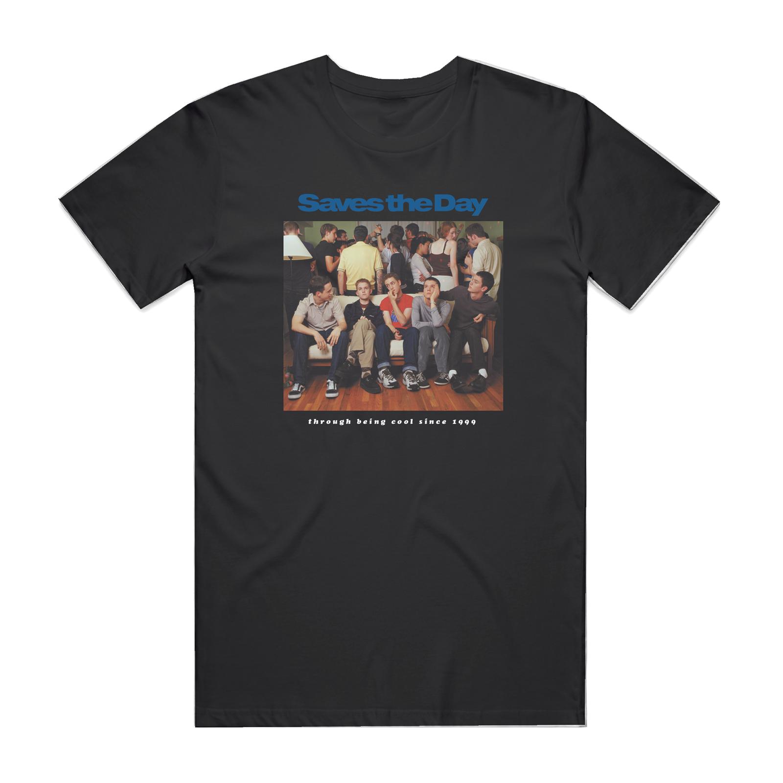Through Being Cool - Black T-Shirt