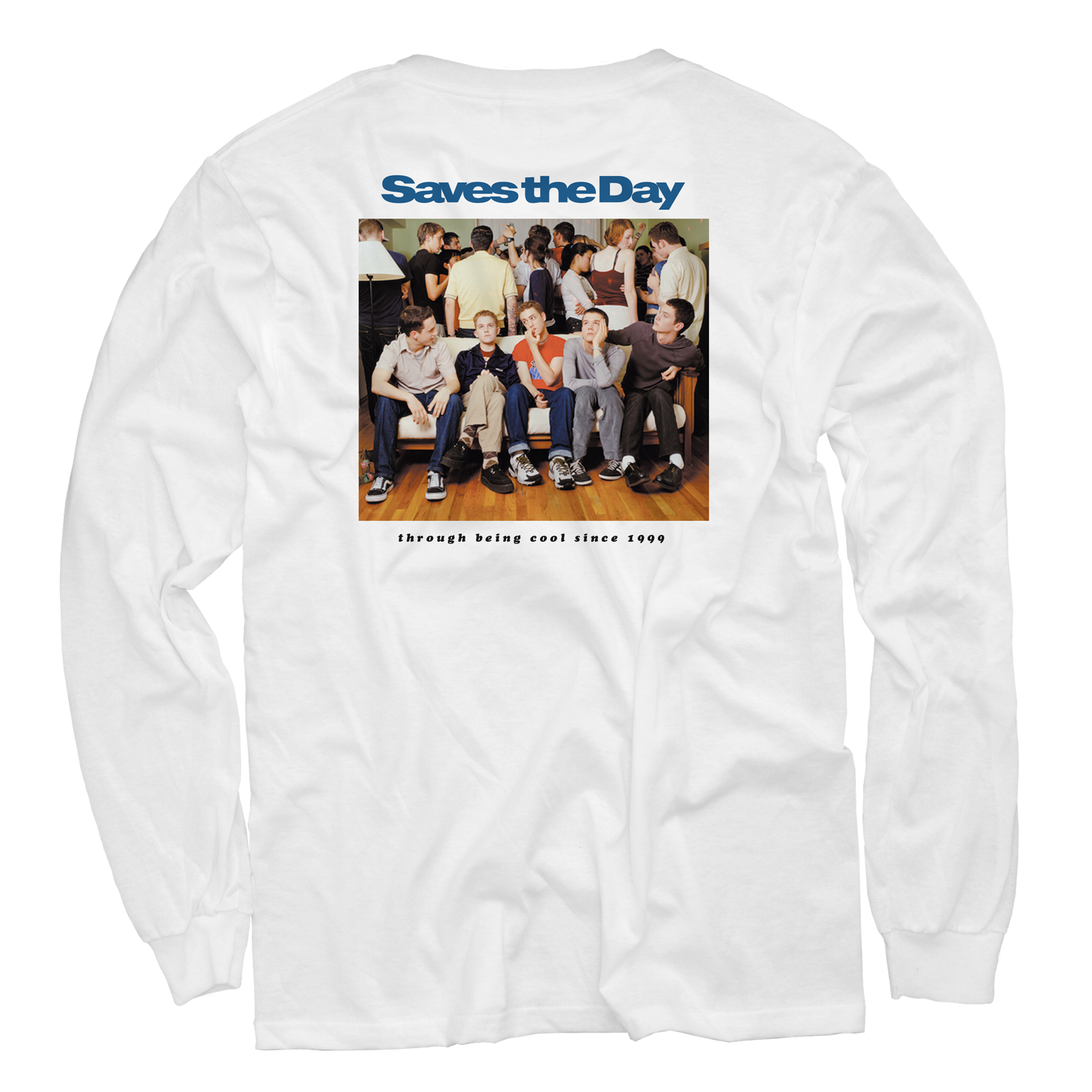 Throught Being Cool - White Long Sleeve