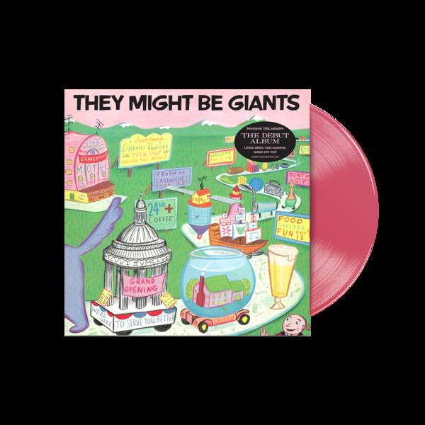 First Album Re-Issue Vinyl + Download