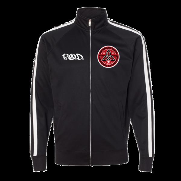 P.O.D. Black Track Jacket