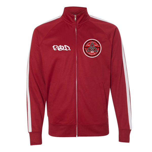 Boom Red Track Jacket