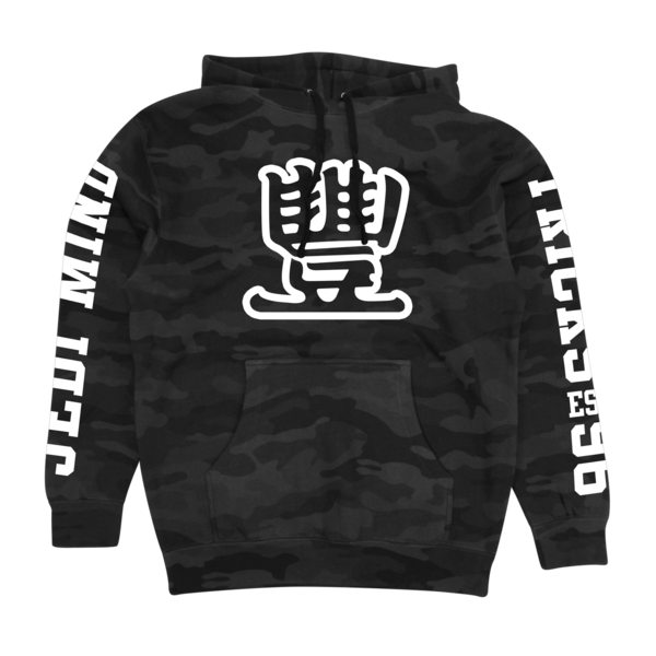 Broad Street on Black Camo Pullover