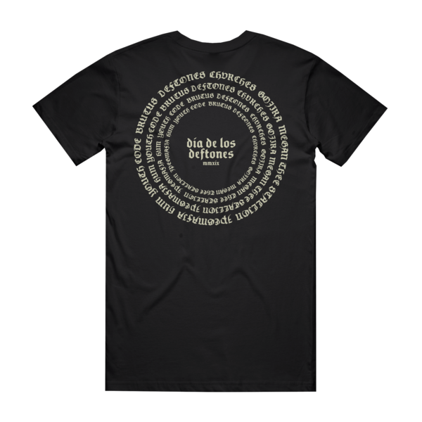 DDLD19 Black Spiraling T-Shirt