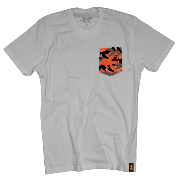 Goldfish Asphalt Camo Pocket Tee
