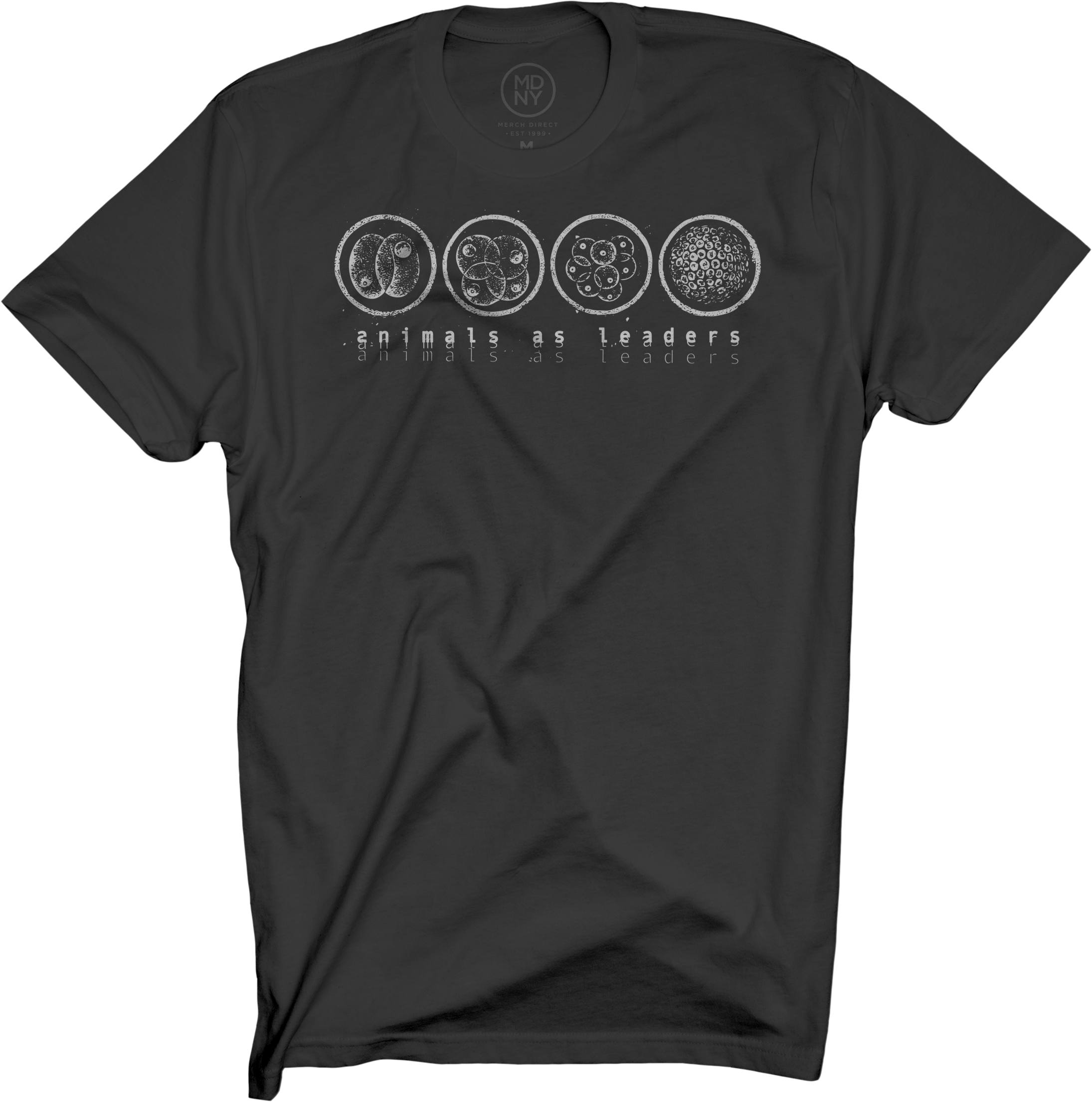Mitosis Black T-Shirt