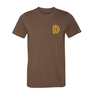 Capital D Heather Brown T-Shirt
