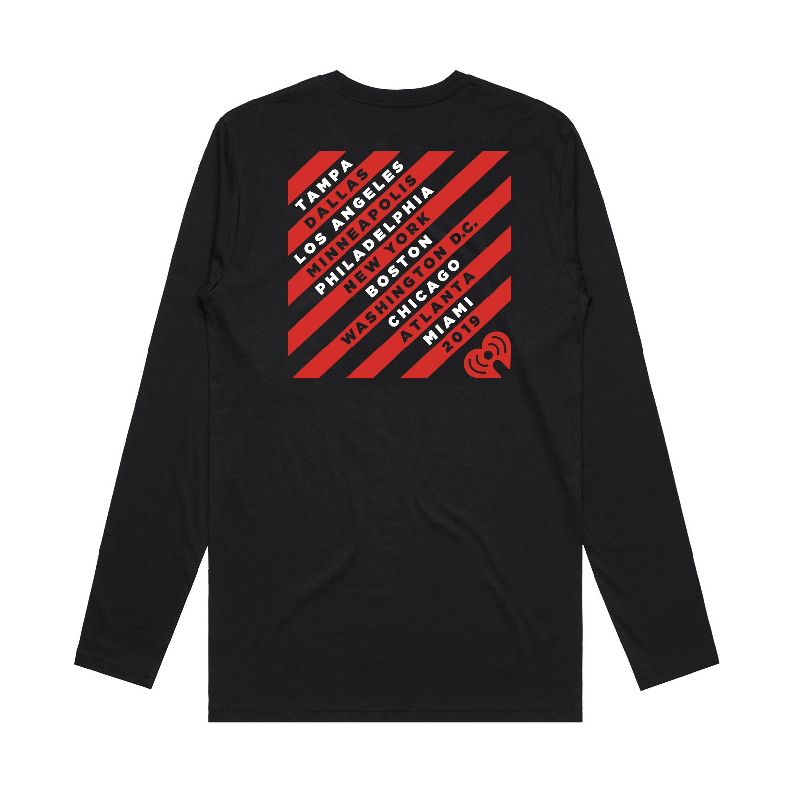 JB19 Tour Black Longsleeve