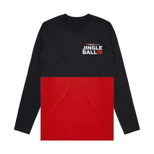 JB19 Tour Black/Red Colorblock Longsleeve