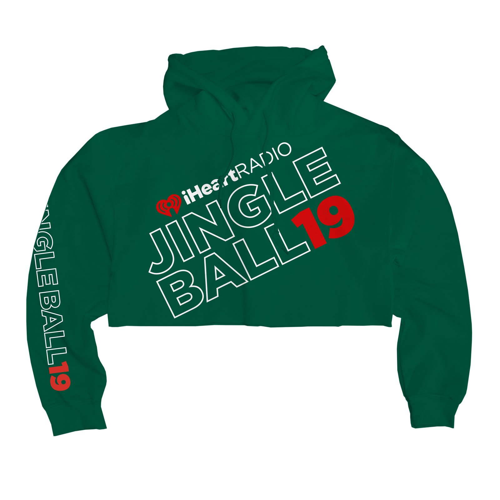 JB19 Tour Crop Hooded Pullover